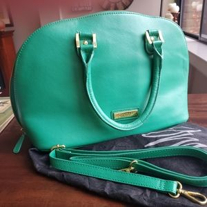 Durable Leather Satchel Handbag